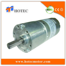 long life reversible 37mm dimater gearbox 6mm dia shaft low noise high torque 12v massage chair dc motor