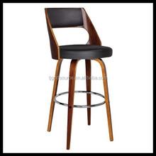 New Design Swivel Wood Bar Stool