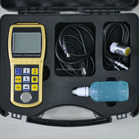 Portable industrial digital plate / glass / pipe ultrasonic thickness tester