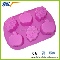 silicone cake molds/silicone mould for oven with food standard