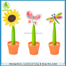 Novelty cheap flower pen for promotion