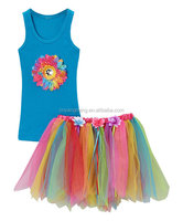 kinds of colorful cute giggle moon remake ballet dresswith fabric boutique outfits for girls' tutu skirt