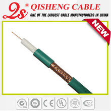 Hot sale in France 75ohm coaxial custom cable assembly/ kx6 coaxial cable for hd CCTV camera system