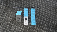 fold swing tag paper hang tags for sunglasses
