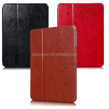 China supplier slim cover case for ipad 4 card slots case for ipad 4 ,flip slim leather cover case for ipad 4
