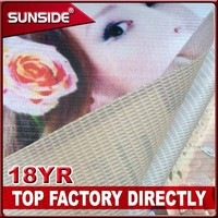 digital fabric printing one side / two sides banner printing service ZBX07