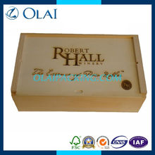 top-grade deluxe double wooden box for wine forsale