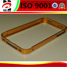 powder coating aluminum hard csae,customized metal mobile phone case