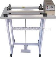 Foot sealer 400mm pedal impulse electrical sealing machine Heat package packaging tool