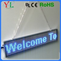 Hot Sale Slim Frame USB or Wifi Bluetooth Program Indoor Mini LED Display
