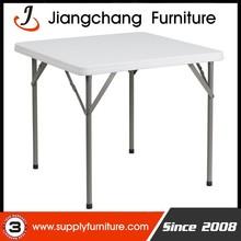 HDPE Top Plastic Square Folding Table JC-T400