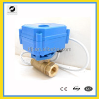 CWX-15Q/N series DC12V motorized valve for Solar thermal,under-floor,rain water,irrigation,plumbing service