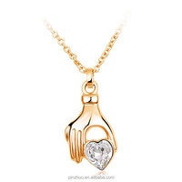 Alibaba express jewelry, fashion gold filled jewelry necklaces 2015