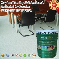 Maydos oilbased scratch resistant epoxy resin warehouse floor paint coating