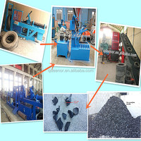 used tyre recycling machne