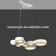 moderna mesa de top led lámpara de araña
