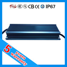 5 years warranty high PFC 12V 120W waterproof power supply
