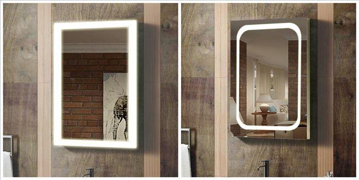 Illuminated Wall Mounted Shaving Bathroom Mirror Lights Australia