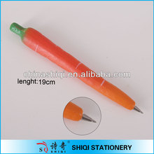 hot sale carrot magnet ball pen