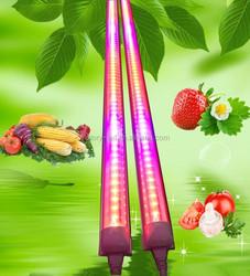 Full Spectrum Fruits and Vegetables Growth Lighting 4ft 1200mm 18w T8 LED Tube Grow Light