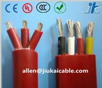 Oil/Water resistant Flat PVC/RUBBER 3/4 Core 1.5 sq mm electric Submersible deep well Pump Cable