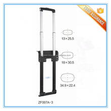 High Quality metal telescopic luggage parts handle