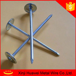 umbrella head roofing nails with washer