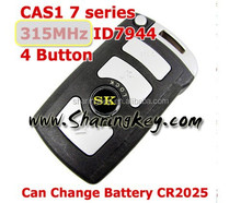 High quality Smart Card With Emergency Key 315 MHZ for BW 7 Series CAS1