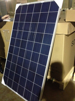 250W Poly solar panel in China with full certificate can built in inverter