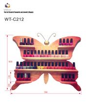 Moda 2015 opi esmalte de uñas de acrílico del soporte de exhibición