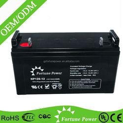 12 volt solar batteries 120ah deep cycle solar battery for solar power systems