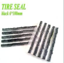 black tire repair seal string 100mm*6mm