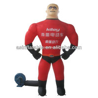 best selling spiderman inflatable model for advertising