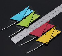 High quality metal handle hot sale Portable Mini credit card knife/cutter