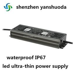 300w 12v 50 amp power supply ultra-thin led driver waterproof IP67