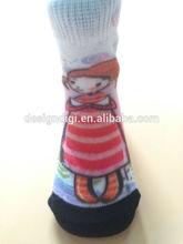 personalizados de impresión lindo y barato en alta calidad de bebé calcetines