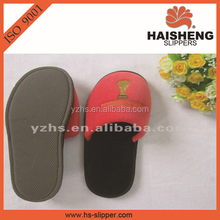 Disposable Slippers Style and Terry/velour/towel/waffle Upper Material close toe hotel terry towel slipper