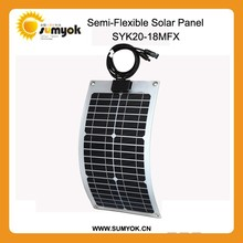 Flexible foldable solar charger solar mobile charger for iphone solar panel OS20-18MFX