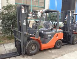 2.5T Gasoline/LPG Forklift Truck Nissan K21 engine