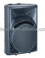 15'' professional 2 way living audio speaker best concert speakers