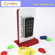 TM118 High Reliable Digital Code Cabinet Lock, Fix code or temporary code to unlock, master code available