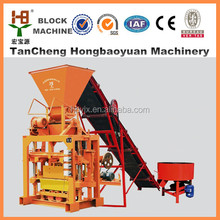 China building equipments QTJ4-30A concrete block making machine in India price