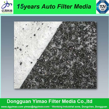 YMAC560P1 synthetic cabon air filter cloth, fiber fabric for pre-carbon filter