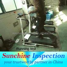 commercial treadmill quality inspection in China/hefei/jiangsu/zhejiang/guangdong/
