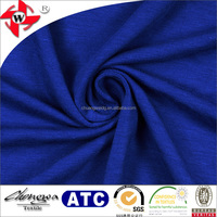 wool handfeel soft milk silk jersey knit fabric with polyester and spandex material for underwear