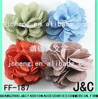 large colorful fabric handmade shoes decorative flower