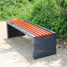 Outdoor furniture cheap patio composite garden bench for sale