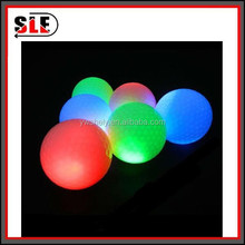 custom led golf ball with logo printed from china supplier