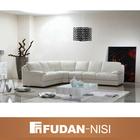 Qualidade de confiança sofá de couro branco FM011