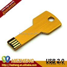 Promotional USB Gift Key Shape USB Pendrive 16GB